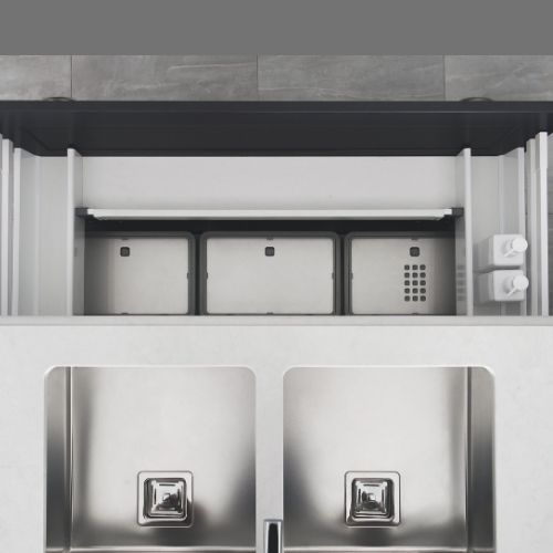 Pull Out Sink Cabinet